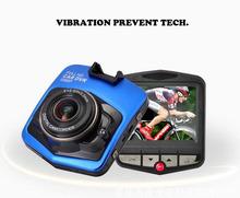 Hot koop Mini Auto DVR Camera GT300 Dashcam Full HD 1080 P Video Registrator Recorder g-sensor Nachtzicht Dash Cam Gratis verzending