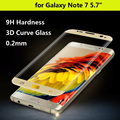 New For Samsung Galaxy Note 7 Glass Screen Protector For Note 7 Tempered Glass Screen Protector