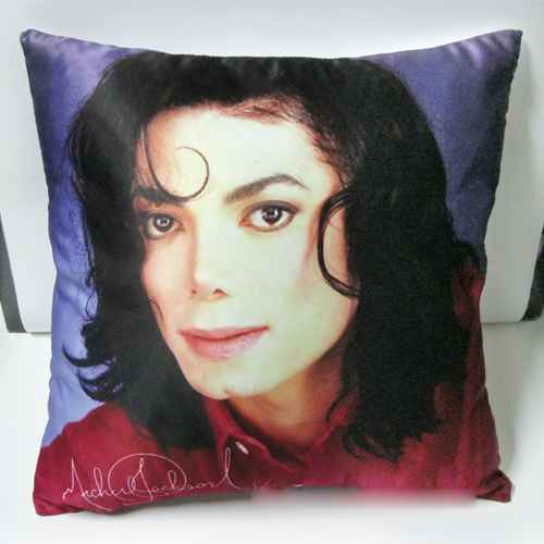 Pillowcase New Michael Jackson Cushion Pillow Cover 1pc Smile Angle Style