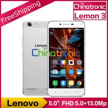"Original Lenovo K32 Lemon 3 Android 5.1 Mobile Phone Snapdragon Octa Core Dual SIM 5""1920x1080P 2G RAM 16G ROM 13MP Metal Body(China (Mainland))"