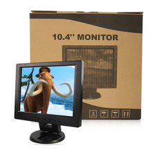 "10.4"" LCD monitor, Resolution 800*600, TN panel can be used as desktop Computer display, VGA PORT black(China (Mainland))"