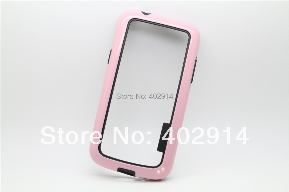 Dual Color Frame Bumper TPU +PC CASE for Samsung Galaxy Core plus G3500 for GRAND 2 G7106 for S DUOS S7562 20pcs/lot