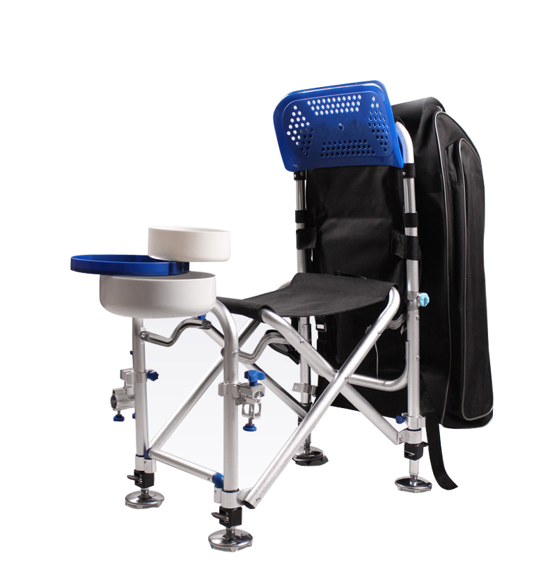 Reclinable Deluxe Fishing Chair – Foldable – Multi-function