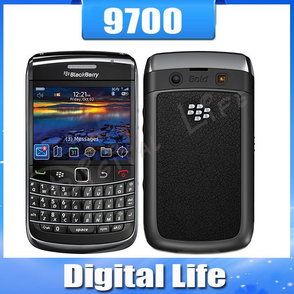 Unlocked Original BlackBerry Bold 9700 Mobile Phone 3G GPS WIFI(China (Mainland))