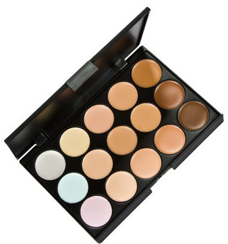 Concealer Special Professional 15 Color Facial Face Cream Care Camouflage Makeup Palettes Cosmetic(China (Mainland))