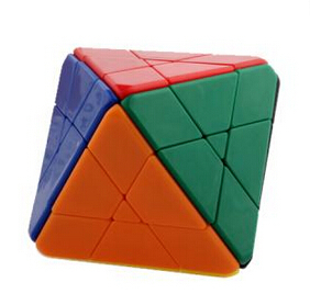 LanLan 4-Layer Octahedral Stickerless Magic Cube Puzzle Educational Toy Special Toys Concept Edition Birthday Gift(China (Mainland))
