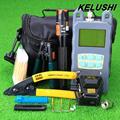 KELUSHI 20 in 1FTTH Fiber Optic Tool Kit with Fiber Cleaver 70 10dbm Optical Power Meter