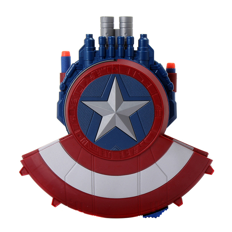 The The Avengers Super heros Captain America Shield Launcher Shoot Gun action figure toys for baby kids gifts C0A267<br><br>Aliexpress