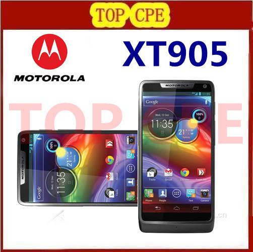 Original Motorola RAZR M XT905 2/3/4G Micro-SIM 1GB RAM 8MP Dual-core Black/White Android OS Cell Phones refurbished(China (Mainland))