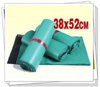 38x52cm 50pcs/lot green plastic mailing bags express bags self adhesive seal bag