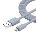 Noodle Flat Micro USB Cable Data Sync USB Cable charging for Samsung S6 S7 Xiaomi Redmi