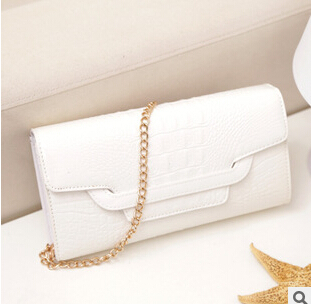 The new Ms. leisure crocodile clutch evening bags(China (Mainland))
