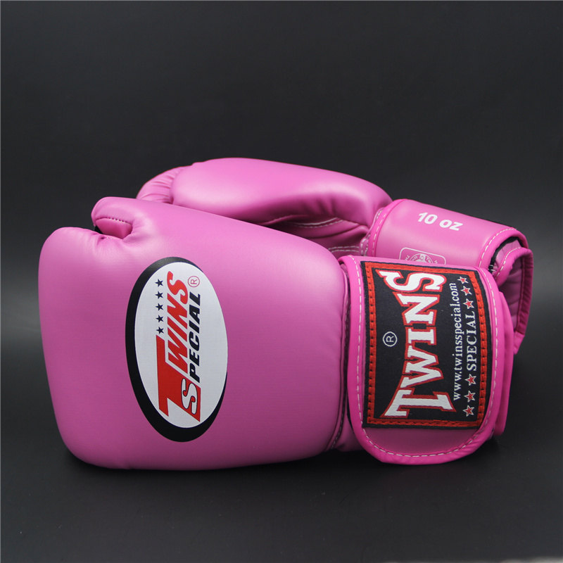 TWINS Boxing gloves for women 10oz 12oz 14oz PU mateial high quality breathable male fitness boxing gloves muay thai for adult()