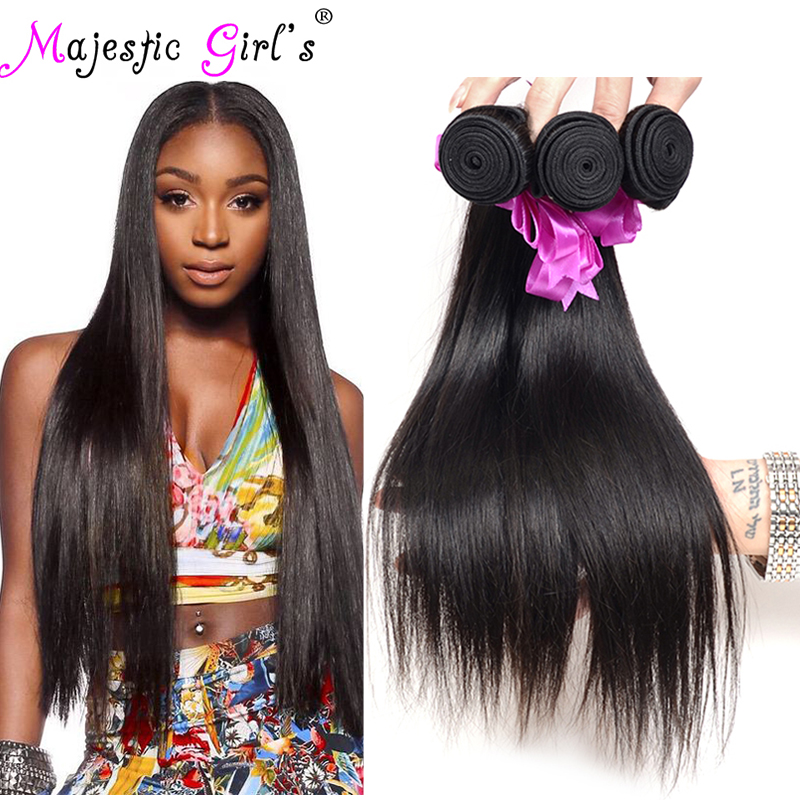 Malaysian Virgin Hair Straight 4Bundles Deal Malaysian Straight Hair Rosa Hair Products 7A Malaysian Virgin Human Hair Extension(China (Mainland))