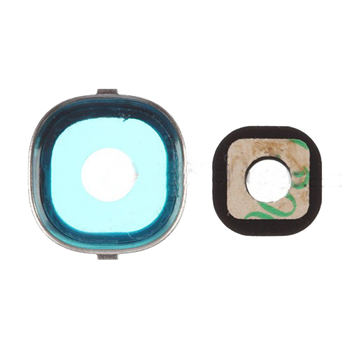10 pieces/lot Free shipping Gold color Camera Lens and Bezel Repair Parts for Samsung Galaxy S4 i9500 i9505 i337(China (Mainland))