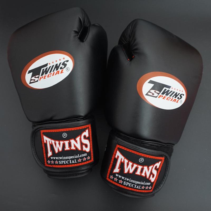 2015 New kick Boxing Gloves PU Leather Half Mitts Mitten Muay Thai karate taekwondo  Training Boxing Glove Blue/Red/White/Black