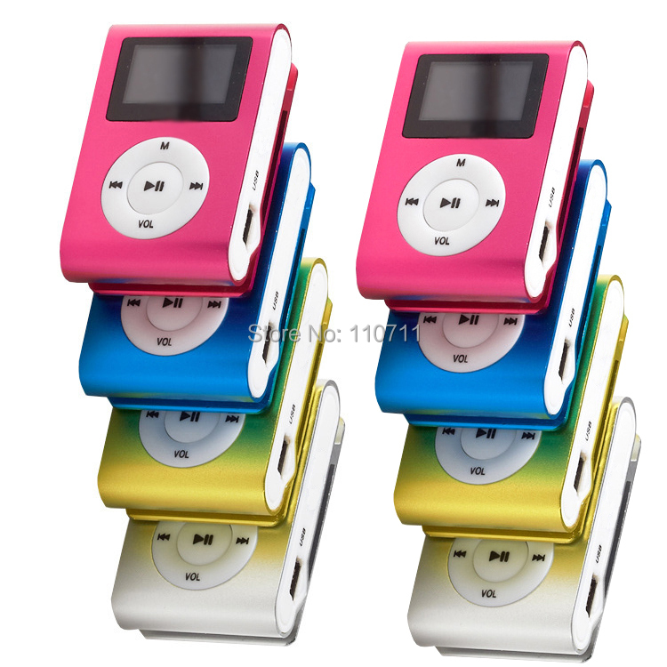 MP3-плеер Brand New Drop 10pcs/lot mp3 mp3/tf Clip MP3 with Screen