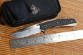 M390 blade KEVIN JOHN VENOM 2 Folding Ball bearing Flipper Knife Titanium carbon fiber camp hunt