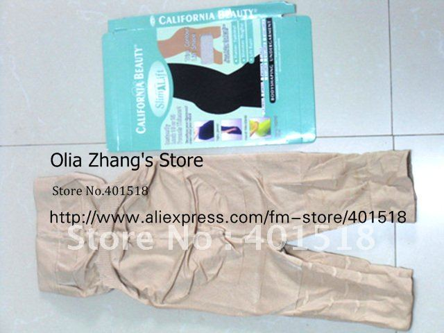 Wholesale - California Beauty Pants Body Shaping Breathable Garment SUPREME SLIMMING UNDERWEAR Shaper Undergarment DHL/EMS(China (Mainland))