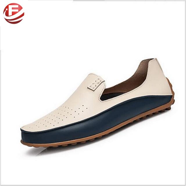 Летняя причинные мужской обуви мокасины высокое качество искусственная кожа мужская ...
