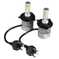 Oslamp LED Car Headlight H4 Hi Lo Beam COB Auto Led Headlight Bulb 72W 8000lm 6500K