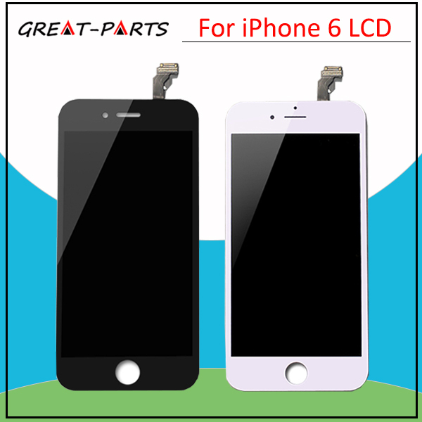 20pcs/lot 4.7 inch Top Quanlity For iPhone 6 LCD display touch screen with digitizer replacement assembly free DHL
