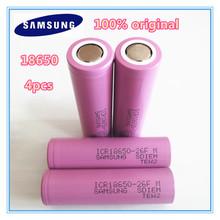 4pcs/lot 2016 newest 100% Original  18650 ICR18650-26Fm 2600mAh Li-ion 3.7v Battery 18650 rechargeable Battery(China (Mainland))