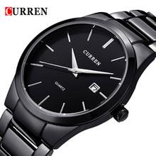 2016 Top Luxury Brand CURREN Men Full Stainless Steel Business Watches Men's Quartz Date Clock Men Wrist Watch relogio masculino(China (Mainland))