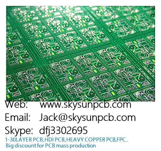 High TG double-side prototype pcb universal fr4 copper clad led plate board amplifier matrix circuit board layout(China (Mainland))