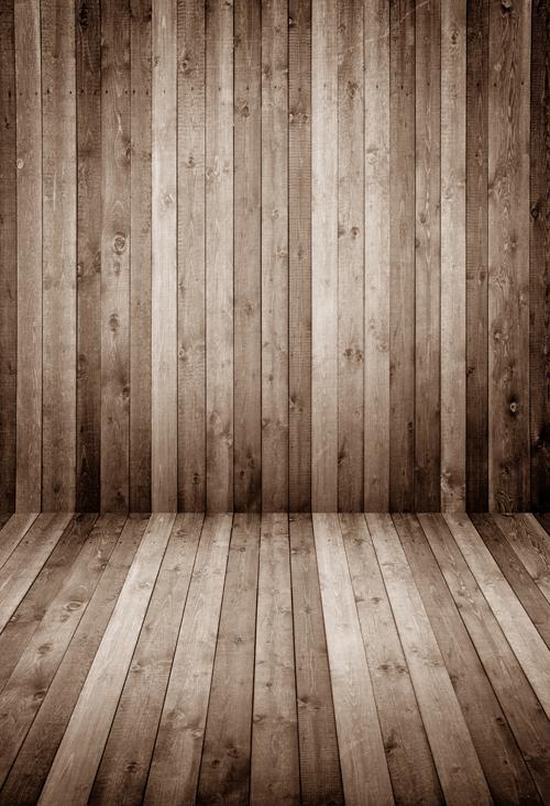 HUAYI Light Ash Brown wood floor photo studio background backdrop MODEL photo BACKDROP D-9684(China (Mainland))
