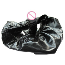 Buy Elastic Latex Dildo Pants Discreet Wear,Gay Silicone Anal Butt Dildo Panties,Penis Strapon Chastity Belt,Sex Toys Woman