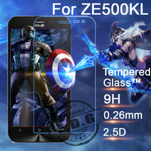 0.26mm 9H Explosion Proof Anti scratch LCD Tempered Glass Film For ASUS ZenFone 2 Laser ZE500KL 5.0″ Screen Protector Film