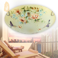 Free shipping Bedroom lamp romantic fashion ceiling light  chinese style ceiling light Dia300mm 110- 220V(China (Mainland))