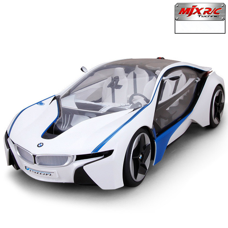 Brand RC 4 Channel Racing Cars I8 Concept Remote Control 1:18 High Speed Quality Electronic Cars WL 2.4GHZ Gift Box(China (Mainland))