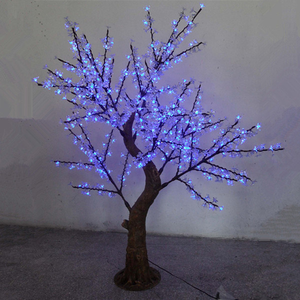 height 1.8m110V/220V blue led cherry blossom tree light(China (Mainland))