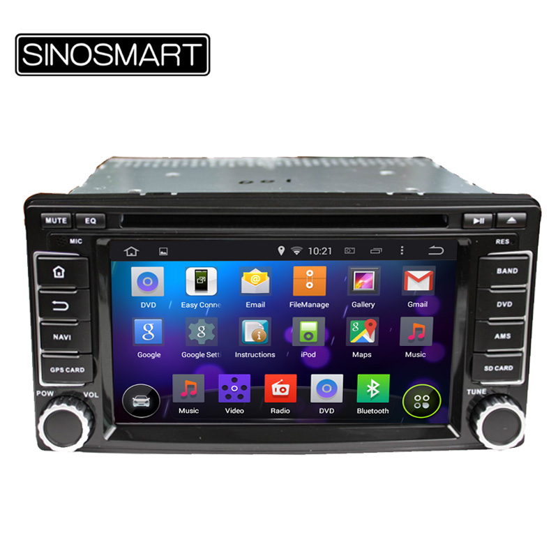 Latest Android 5.1 Car DVD GPS Navigation for Subaru Forester//Impreza 2008-2011 1.6 GHz CPU 1G RAM Supports DVR/OBD(Hong Kong)