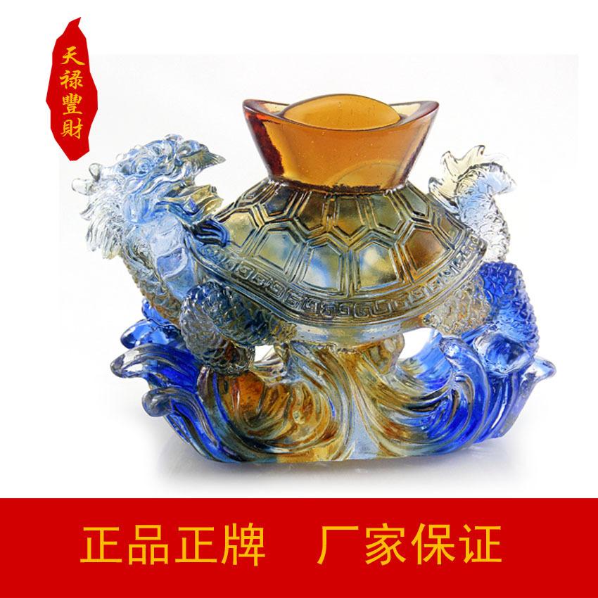 Здесь можно купить  Tian Lu Feng Choi glass ornaments pack gold dragon turtle feng shui ornaments Lucky Joy lettering longevity Chi opened the store  Обувь