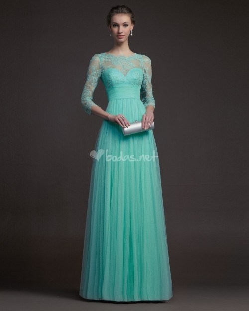 Long sleeve evening gown - ChinaPrices.net