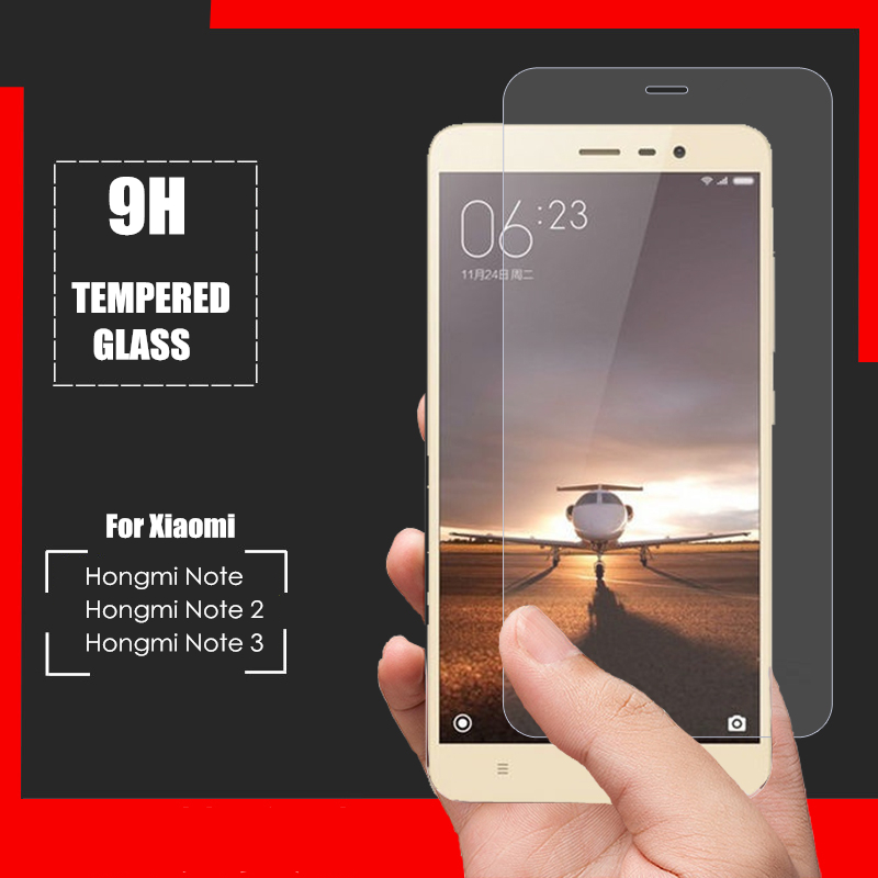 High Quality 0 3mm 2 5D Tempered Glass Screen Protector For Xiaomi Redmi Redrice hongmi note