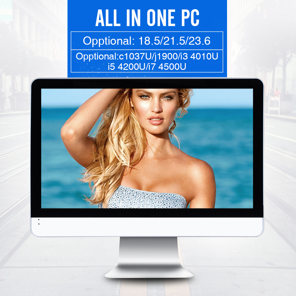 Cheap Fanless Microsoft Windows 7 Professional Mini PC Can Be Assembled Desktop Computer china all in one pc(China (Mainland))