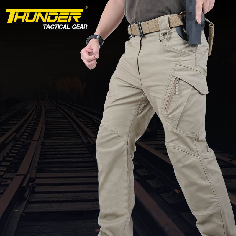 Urban tactical SWAT pants outdoor hiking sports tranning trousers special male casual pants 97% cotton 3% Spandex free shipping