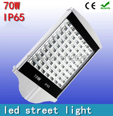 3 years warranty hot sale 70W led street light AC85-265V Waterproof IP65 130-140LM/W LED 70*1w led street lamp for highway(China (Mainland))