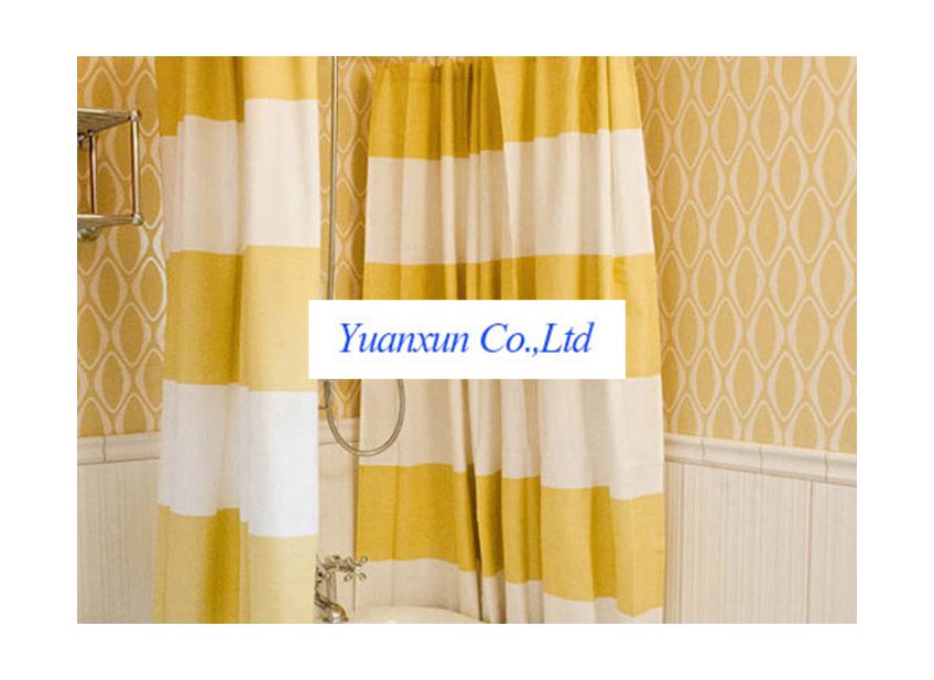 U shaped curtain rod