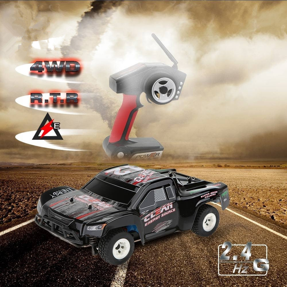 Newest A232 1/24 2.4G Short Course Electric Brushed 4WD RTR RC Car Off-road Buggy RC Drift Car Toys for kids vs A979 L202(China (Mainland))