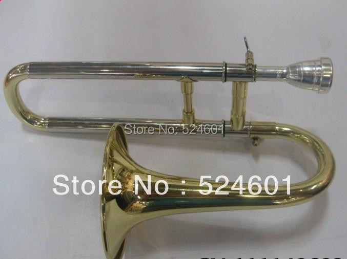 Wholesale Very good gift New Gold Alto Horn Trombone children Nice sound<br><br>Aliexpress