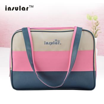 Free Shipping Hot Sale Fashion Unique Colorful Diaper Bag Stylish Fresh Mami Bag Waterproof Nylon Mommy Bag