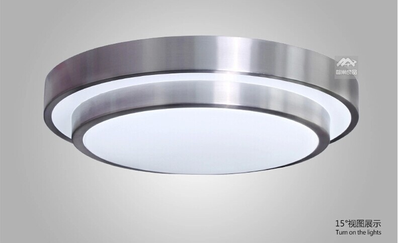 50% OFF Dia 29CM 12W SMD 5730 Double-layer Aluminum LED Ceiling Light For Indoor LED light Ceiling Lamp led kitchen light<br><br>Aliexpress