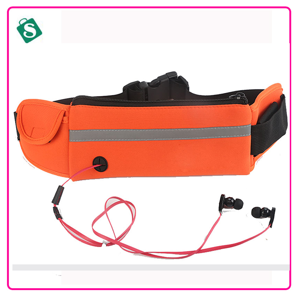 Running bag sports pack outdoor close-fitting invisible multifunctional marathon belt bags WB002(China (Mainland))