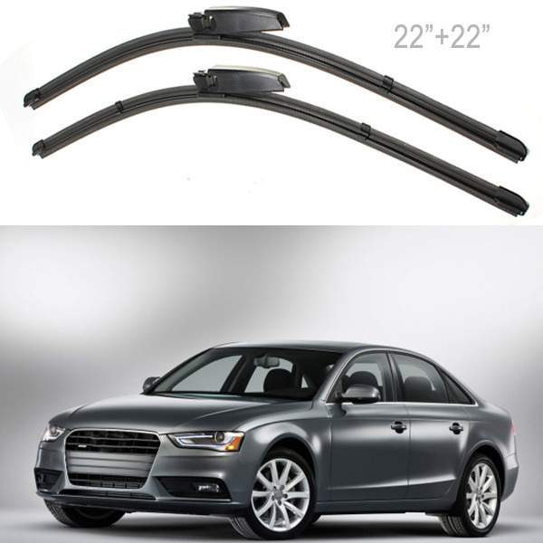 """High Quality 2X 22"""" Left Right Windscreen Wiper Blade For Audi A4 B6/B7 S4 RS4 A6 MA176(China (Mainland))"""