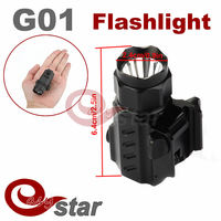 100pcs /a lot Hot Sale TrustFire G01 CREE LED Tactical Lights Gun Flashlight 2-Mode 600LM Torch Light